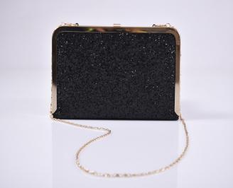 Абитуриентска чанта брокат черна OFDZ-1011220