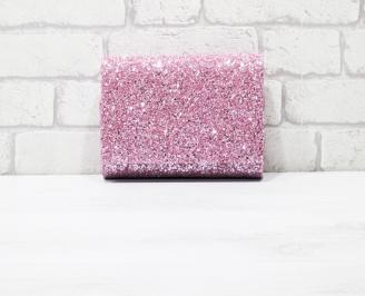 Абитуриентска чанта брокат/розов. NLHF-26146