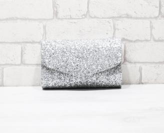 Абитуриентска чанта Брокат/сребриста MTCU-26149