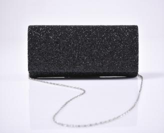 Абитуриентска чанта брокат/черен. PXLX-26154