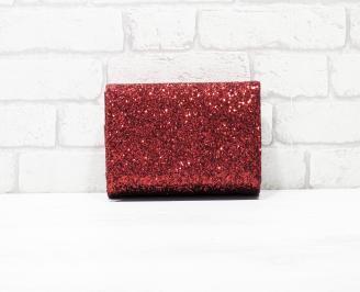 Абитуриентска чанта брокат/червена LVPH-26159