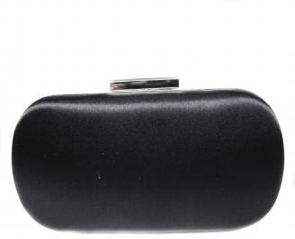 Абитуриентска чанта  черен сатен SBFA-20877