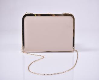 Абитуриентска чанта еко кожа бежова VSDU-1011218