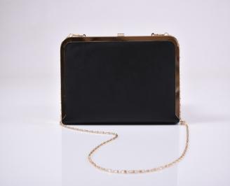 Абитуриентска чанта еко лак черна NTZS-1011227