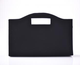 Абитуриентска чанта еко набук черна VAFZ-1013408