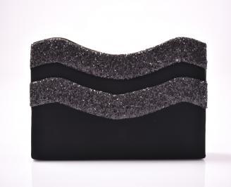 Абитуриентска чанта еко набук черна. CQPW-1013428