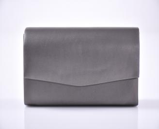 Абитуриентска чанта еко кожа сива EYYR-1013454