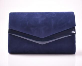 Абитуриентска чанта еко набук тъмно синьо OYMK-1013464