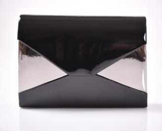 Абитуриентска чанта еко лак черен AVRP-1013474