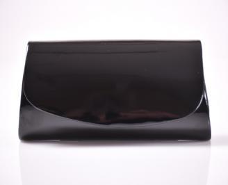 Абитуриентска чанта еко лак черен QNQZ-1013479