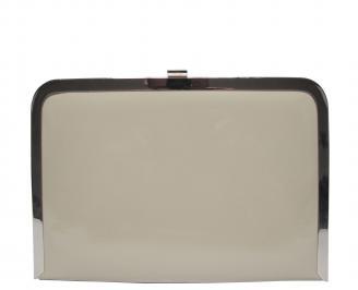 Абитуриентска чанта еко кожа/лак бежова NLEM-21392