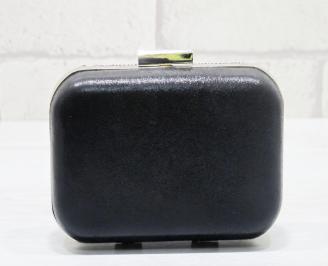 Абитуриентска чанта еко кожа черна RYXT-23717