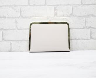 Абитуриентска чанта еко кожа/лак бежаво/пудра/ OUVX-24069