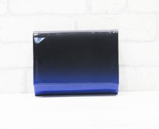 Абитуриентска чанта еко лак синя DWZR-25759