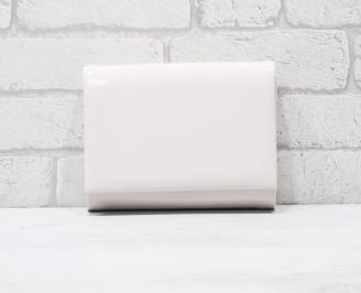 Абитуриентска чанта еко лак пудра AUIR-25764