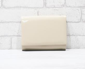 Абитуриентска чанта еко кожа/лак бежова YLRB-25767
