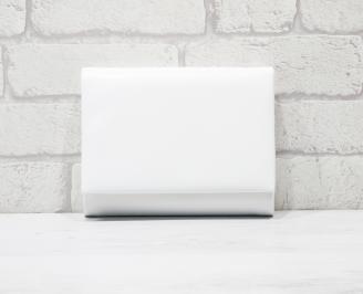 Абитуриентска чанта еко кожа бяла IOZL-25769