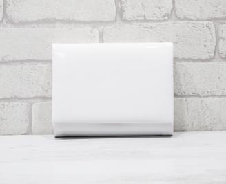Абитуриентска чанта еко кожа /лак бяла XYTF-25772