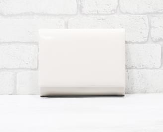 Абитуриентска чанта еко кожа /лак пудра ROQJ-25776