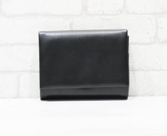 Абитуриентска чанта еко кожа черна UPUR-25777