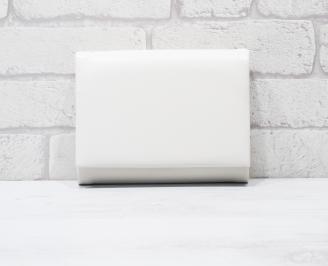 Абитуриентска чанта еко кожа бяла FAFK-25778