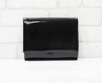 Абитуриентска чанта еко кожа/лак черна XXTM-25779