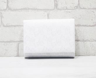 Абитуриентска чанта еко кожа/дантела бяла QZYG-25781