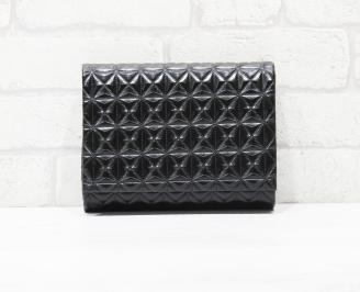 Абитуриентска чанта еко кожа черна QOJX-25783