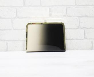 Абитуриентска чанта еко кожа/лак черно/бежаво DLNM-25788