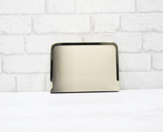 Абитуриентска чанта еко кожа/лак черно/бежаво HWQV-25789