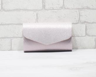 Абитуриентска чанта еко кожа/брокат розова QAAB-25898
