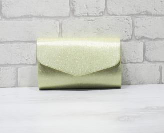 Абитуриентска чанта еко кожа/брокат златиста WNUQ-25900