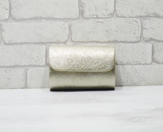 Абитуриентска чанта еко кожа златиста BZFT-25906