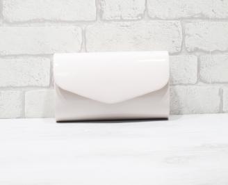 Абитуриентска чанта еко кожа/лак пудра LGUO-25913