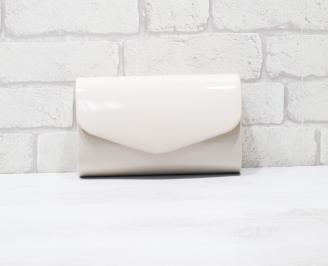 Абитуриентска чанта еко кожа/лак бежова MXGE-25914