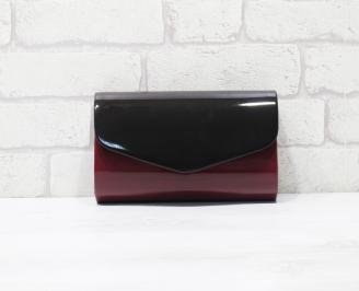 Абитуриентска чанта еко кожа /лак бордо TXCS-25917