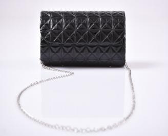 Абитуриентска чанта еко кожа черна GFXA-25924