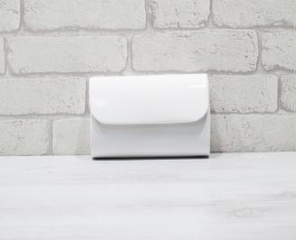 Абитуриентска чанта еко кожа /лак бяла BXXQ-25926
