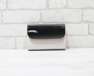 Абитуриентска чанта еко кожа /лак розова UNYV-25933