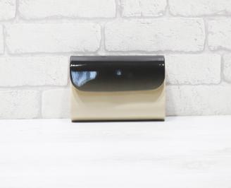 Абитуриентска чанта еко кожа /лак бежова RVYZ-25934