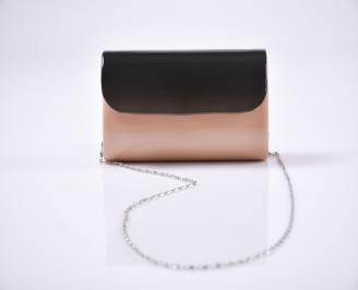 Абитуриентска чанта еко кожа /лак розова HEXG-25935