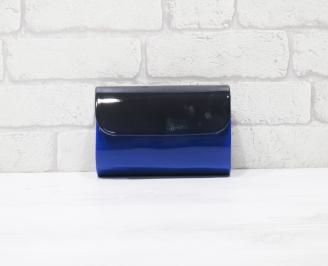 Абитуриентска чанта еко кожа /лак синя OJDQ-25942