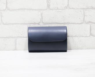 Абитуриентска чанта еко кожа синя EFZE-25944