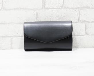 Абитуриентска чанта еко кожа черна EBBA-25948