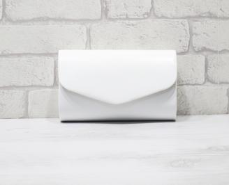Абитуриентска чанта еко кожа /лак бяла GYDB-25949