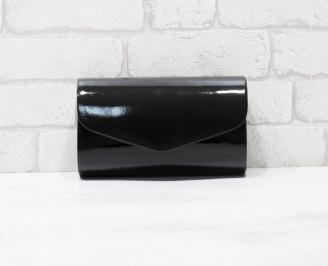 Абитуриентска чанта еко кожа /лак черна NHGR-25951