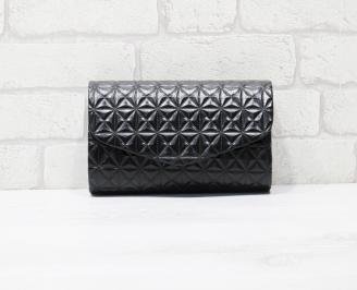 Абитуриентска чанта еко кожа черна UOCY-25954