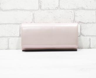 Абитуриентска чанта еко лак розова BLPT-26142