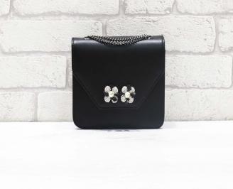Абитуриентска чанта еко кожа черна QDWR-26630