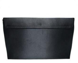 Абитуриентска чанта еко кожа/сатен черна ZRGR-16010